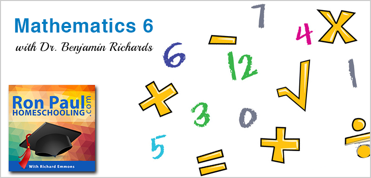 6th Grade Math with Dr. Benjamin Richards