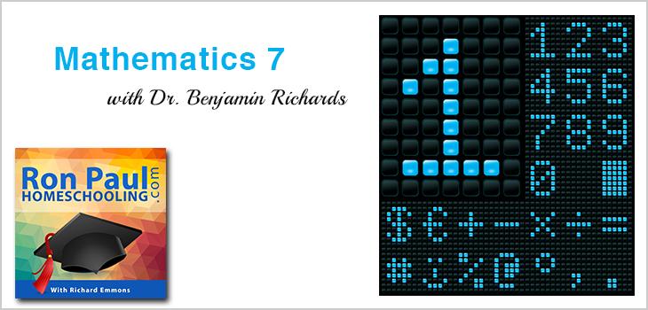 7th Grade Math with Dr. Benjamin Richards