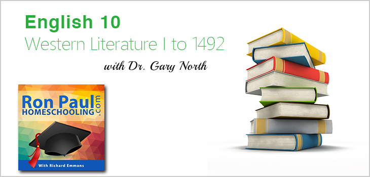 10th Grade English Lesson 1 with Dr. Gary North
