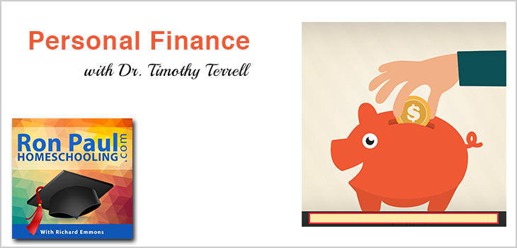 Personal Finance Lesson 1 with Dr. Timothy Terrell